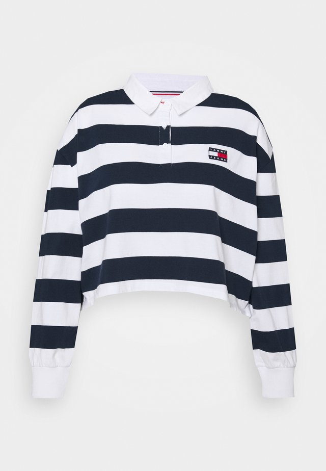 STRIPED RUGBY - Polotričko - twilight navy