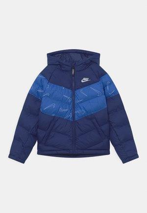 UNISEX - Winter jacket - blue void/game royal/white