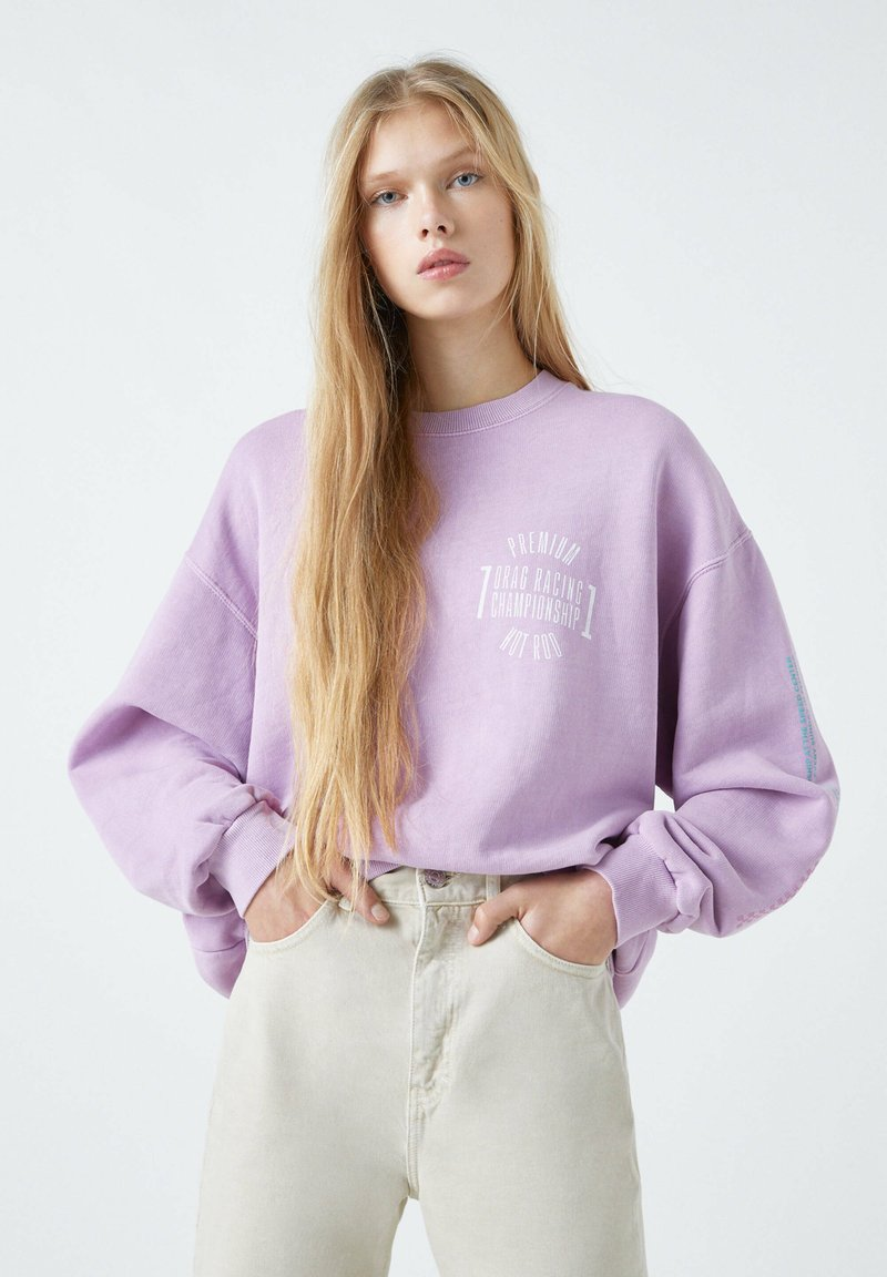 PULL&BEAR - Sweatshirt - rose