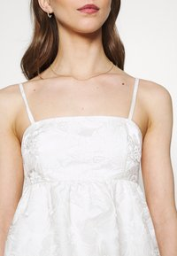 Gina Tricot - LIZETTE DRESS - Cocktail dress / Party dress - offwhite - 5