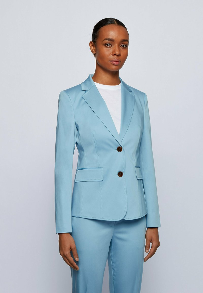 BOSS - JABIELLE - Blazer - light blue