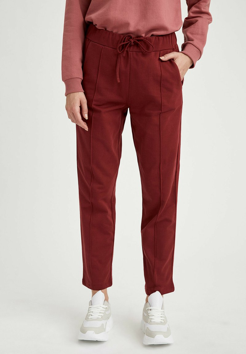 DeFacto - Tracksuit bottoms - bordeaux