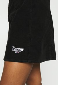 Tommy Jeans - FITTED DRESS - Shirt dress - black - 5