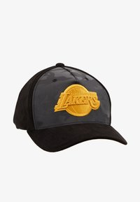 Mitchell & Ness - NBA REFLECTIVE SNAPBACKLA LAKERS - Czapka z daszkiem - black - 4