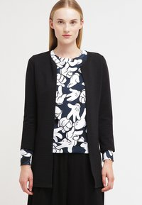 ONLY - ONLLECO LONG  - Cardigan - black - 0