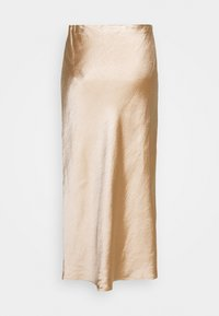Third Form - WILD FLOWERS BIAS MIDI SKIRT - A-line skirt - rose gold - 1