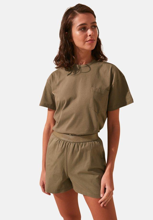 SET - Pyjama set - khaki