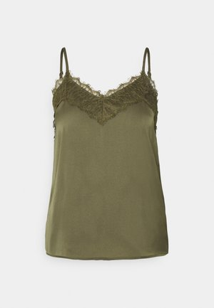VMJUDY NEW SINGLET - Top - ivy green