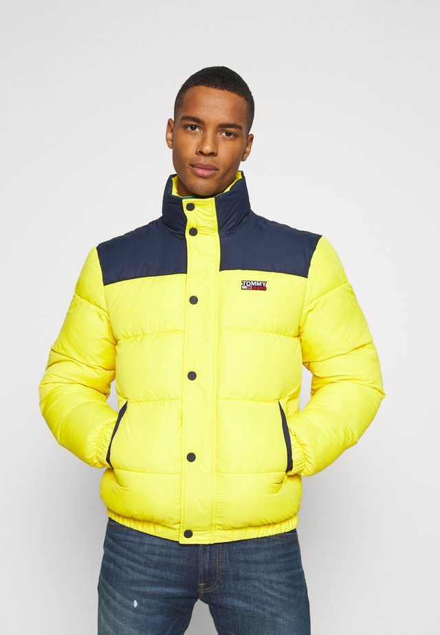 CORP JACKET - Chaqueta de invierno - valley yellow