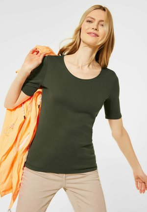 LENA - Basic T-shirt - grün