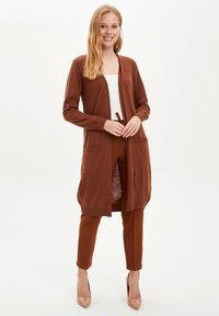 DeFacto - Strickjacke - brown - 1