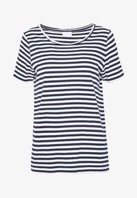 VISUS  - Basic T-shirt - navy