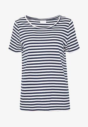 VISUS NOOS - Print T-shirt - navy