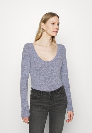 SNOW NEPP - Long sleeved top - drizzle blue