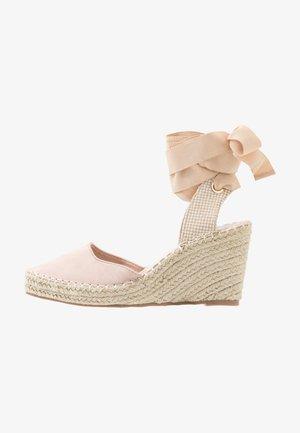 EADIE - Sandaler med høye hæler - nude