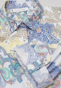 Eterna - MODERN CLASSIC - Button-down blouse - yellow/blue - 4
