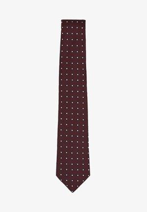 Cravatta - bordeaux