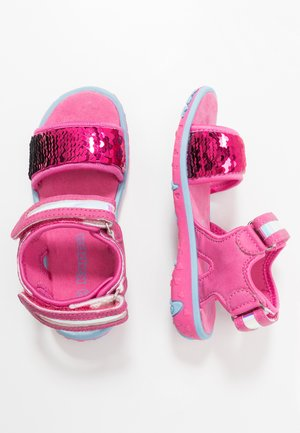 SEAQUEEN - Walking sandals - pink/blue