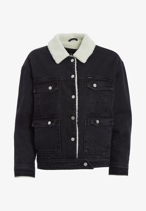 WOODSTONE  - Denim jacket - black