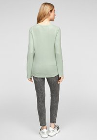 Q/S designed by - LONG SLEEVE - Jumper - mint - 2