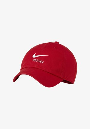 POLEN HERITAGE - Cap - sport red/white