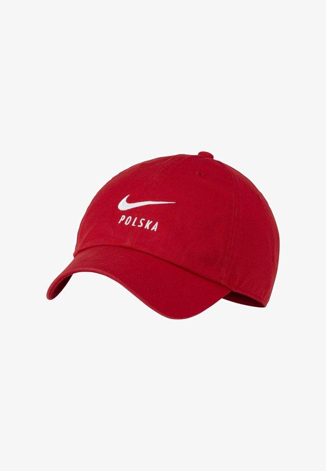 POLEN HERITAGE - Casquette - sport red/white