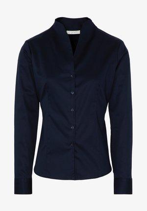 MODERN CLASSIC SLIM FIT - Button-down blouse - marine
