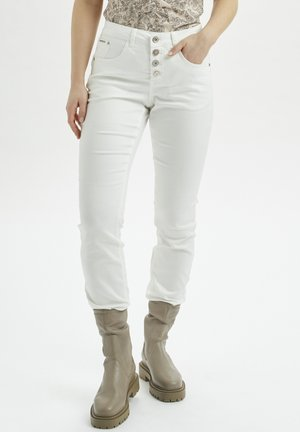 CRLOTTE  - Slim fit jeans - snow white