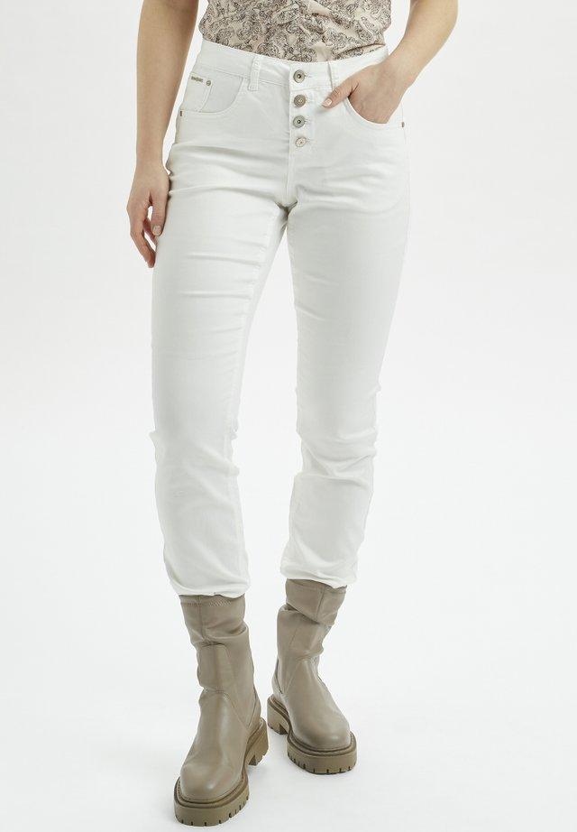 CRLOTTE  - Jeans slim fit - snow white