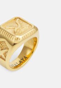 Nialaya - AMERICAN EAGLE SQUARE SIGNET - Ringar - gold-coloured - 3