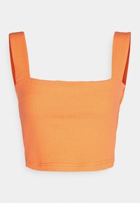 Glamorous - CROP WITH LOW STRAIGHT NECKLINES AND WIDE STRAPS - Topper - orange - 0