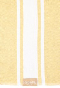 Espadrij l´originale - BEACHPLAID - Strandtuch - citron - 1