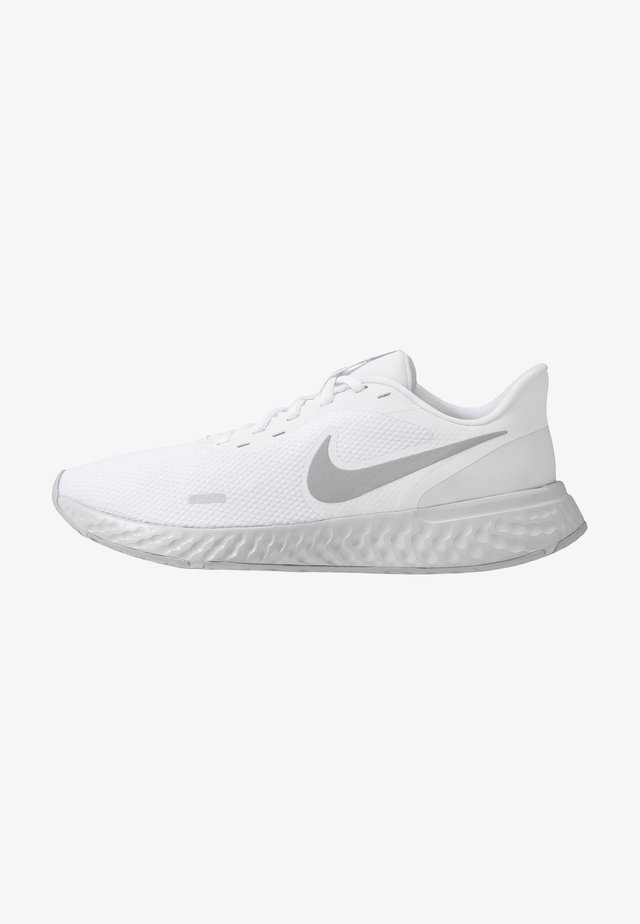 REVOLUTION 5 - Neutral running shoes - white/wolf grey/pure platinum