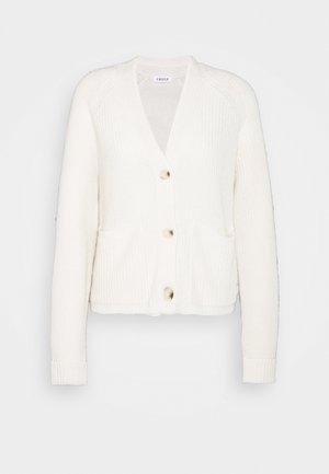 LAMIS CARDIGAN - Cardigan - white