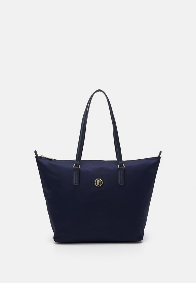 POPPY TOTE - Bolso shopping - blue