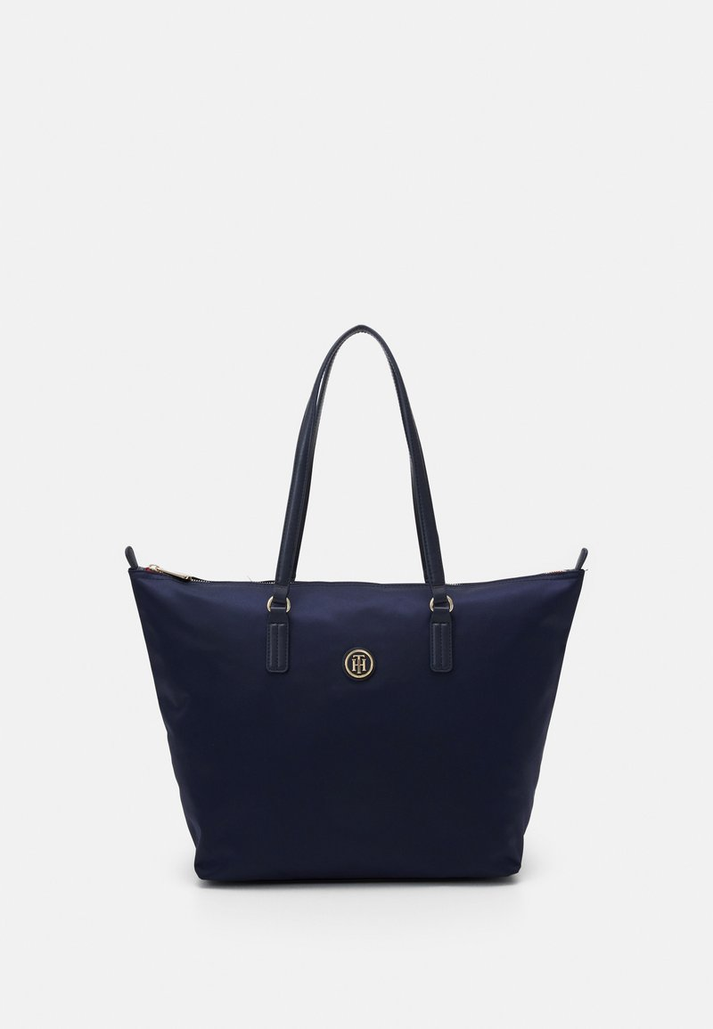 Tommy Hilfiger - POPPY TOTE - Shopping bags - blue
