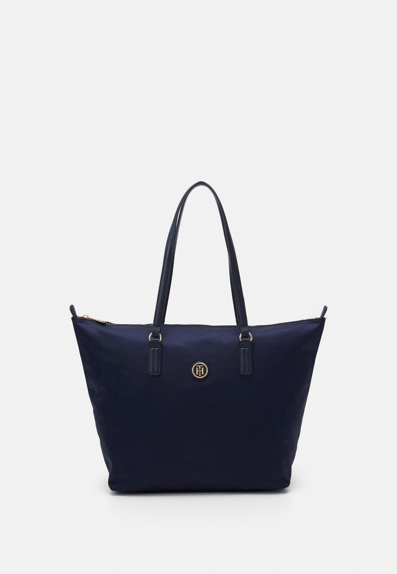 Tommy Hilfiger - POPPY TOTE - Shopping bag - blue
