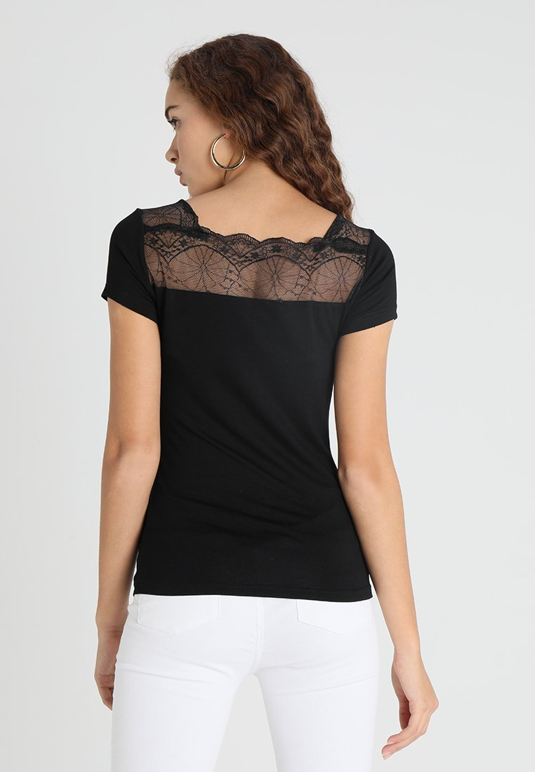 Morgan - DCLARY - Print T-shirt - noir