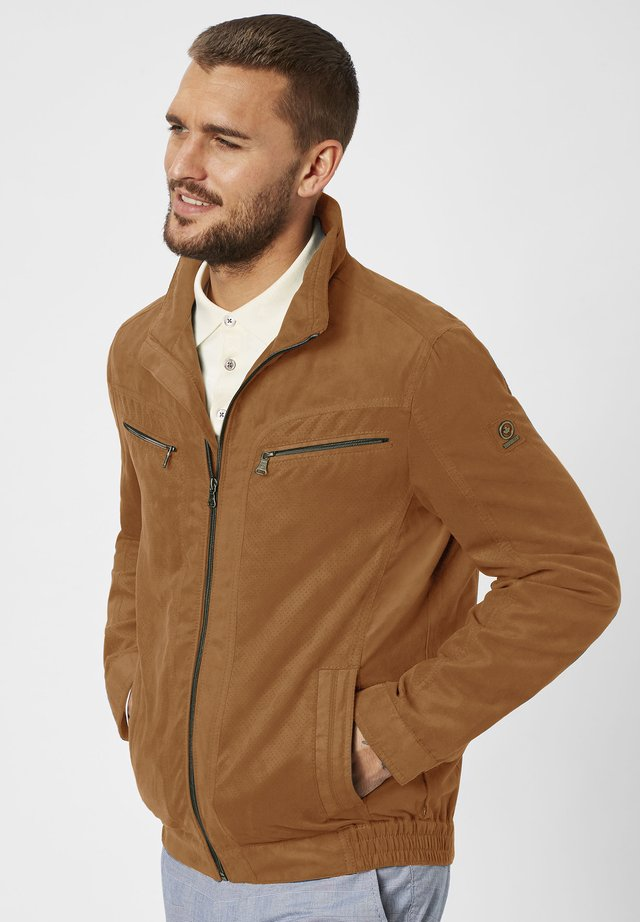 TED  - Light jacket - cognac
