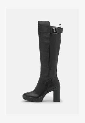 NEW NANCY  - Šněrovací kotníkové boty - black