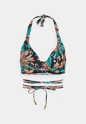 WILD DAISY HALTER - Bikini top - multi