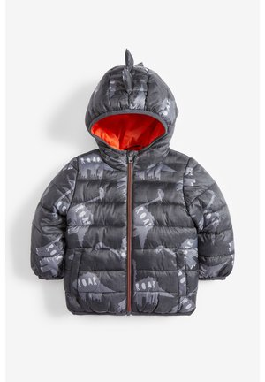 YELLOW COLOURBLOCK PADDED JACKET (3MTHS-7YRS) - Chaqueta de invierno - grey