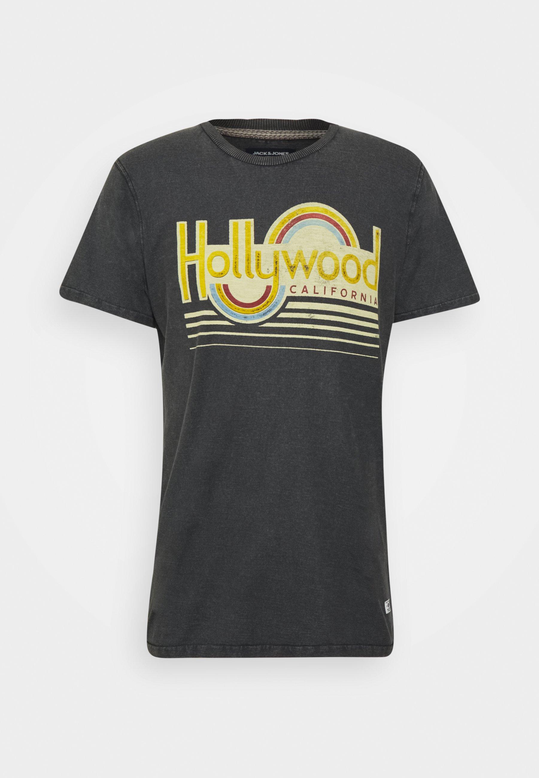 Uomo JPRBLUHUBERT TEE CREW NECK - T-shirt con stampa