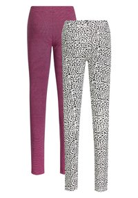 WE Fashion - 2 PACK - Legging - multi coloured - 5