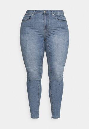 CARHIRIS LIFE PUSHUP - Skinny džíny - light blue