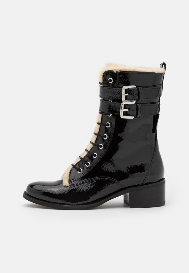 SERENA - Lace-up ankle boots - black