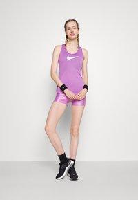 Nike Performance - DRY BALANCE - Tekninen urheilupaita - violet shock/white - 1