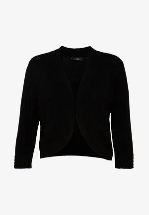 CURVE BOLERO - Vest - black