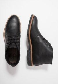 Panama Jack - GAEL  - Casual lace-ups - black - 1