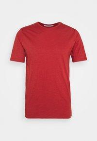 DELTA - T-shirt basic - red ochre melange